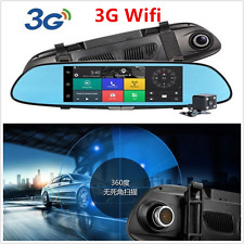 3G 1080P Car DVR Camera WIFI Video Rearview Mirror Dash Cam Dual Lens Recorder