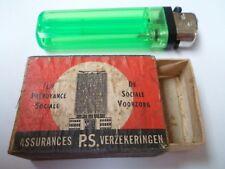 Ancienne boite allumettes vide - Assurances P.S - BELGIUM