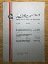 The Aeronautical Quarterly (Royal Aeronautical Society Journal) RARE May 1975