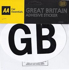 AA GB SELF ADHESIVE STICKER : Quality Brand : WH2 : 038 : FREE UK P&P