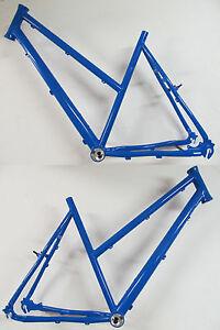 Heli-Bikes Light Rohloff Aluminium Frame Ladies 22 13/16in Sid Blue 2018 cross