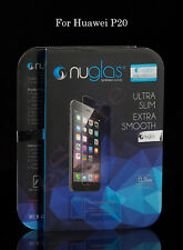 Huawei P20 Tempered Glass Screen Protector by Nuglas (Brand New Sealed)