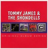 TOMMY JAMES & THE SHONDELLS - ORIGINAL ALBUM SERIES 5 CD NEU