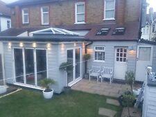 Nuevo, puertas de patio Calidad aluminuim Bi Fold Inc Vidrio 3 Paneles. mira los votos