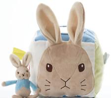 Peter Rabbit Activity Cube  - Beatrix Potter Baby Soft Toy  -  FAST DISPATCH!