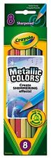 Crayola Metallic Pencils - 8 pack