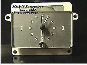 NEW 1957 57 Lincoln Clock NOS (exc. Mark II)