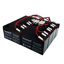 APC UPS RBC12 RBC26 RBC27 - Replacement 12V 7AH 8AH SLA 8 Pack for SU3000RMT3U
