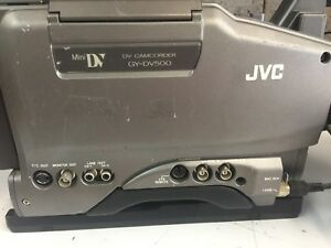 JVC GY-DV500 Mini DV Professional Camcorder (No Batteries !)