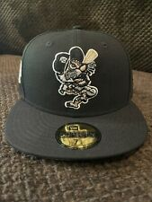 Detroit Tigers LSD Coked Out Tiger Black New Era Peach UV 7 1/4 1945 Patch