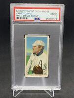1910 T206 Harry Davis Phil PSA 2   ⚾️ Piedmont