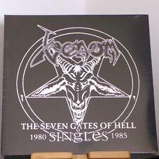 Venom - The Seven Gates Of Hell: Singles 1980 - 1985 / Doppel-LP (BOBV448LP) red