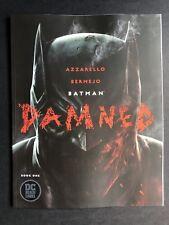 Batman Damned #1 (2018) Lee Bermejo Cover A [NM] Mature Readers