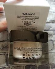Chanel Sublimage Essential Regenerating Cream Texture Universelle NEW Sealed 1.7