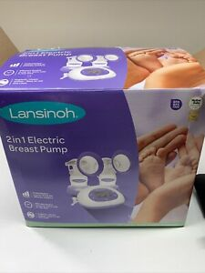 Lansinoh 53060 2 in 1 Double Electric Breast Pump (1451)
