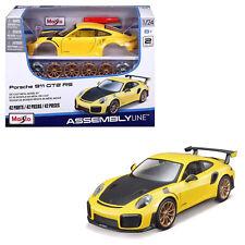 Maisto Assembly Line Porsche 911 Gt2 RS 1 24 Car Model Kids 8y Vehicle Kit YL