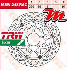 Disque de frein Avant TRW Lucas MSW 248 RAC pour Suzuki SV 650 , S WVBY 2003-08