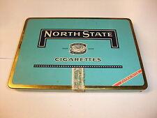 alte leere Blechdose Reklamedose Werbung Reklame NORTH STATE Brown & Willamson