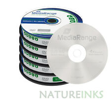 50 MediaRange DVD-RW 4.7GB 120 minutes 4x rewritable Retail Cakebox MR450