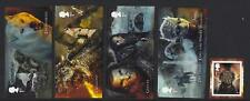 GREAT BRITAIN 2018 GAME OF THRONES SELF ADHESIVE SET OF 5 UNMOUNTED MINT