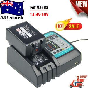 Makita 18V 6.0AH 1/2 Battery +Charger W/Led Indicator For  BL1860 BL1850 BL1840