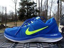 Nike Dual Fusion Run 3 Men Running Shoes Blue. Size 11 Free Shipping