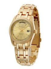 Vergoldete Quarz-(Batterie) Armbanduhren mit Glanz für Herren