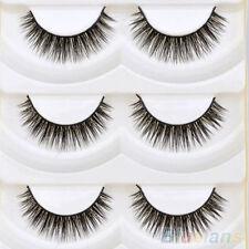 5 Pairs Lady Makeup Eyelashes Natural Dense False Eye Lashes Extension Long