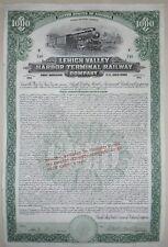 LEHIGH VALLEY HARBOR TERMINAL RAILWAY COMPAGNY 5% Gold
