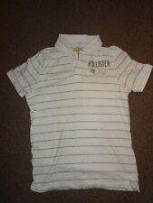 Hollister Diseñador Rayas en Blanco para Hombre de Manga Corta Camisa De Polo  Camiseta grande e36b0a5f50dc9