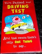 You've Passed Your Driving Test Card by Second Nature Cards. Driving Theme.