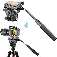"Neewer Fluid Video Head Camera Head for Camera with 1/4"" Thread"