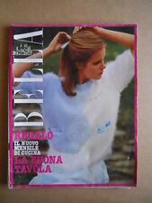 BELLA - rivista di lavori femminili n°17 1980  [C60]