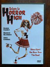 Return to Horror High DVD 1987 Cult Horror Movie Classic Anchor Bay