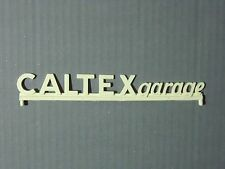 ENSEIGNE  CALTEXGARAGE   POUR  GARAGE  STATION  SIO  DEPREUX   VROOM  1/43