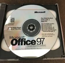 Microsoft Office 97 Small Business Edition w Certificate of Authenticity