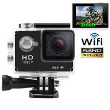 Full HD Wifi SJ4000 1080P 12MP Car Cam Sports Camera DV Action Waterproof Black
