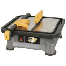 """7"""" 22.5 & 45 Degree Portable Wet Tile Saw 3600 Rpm 4.8 Amp 2/3 Hp Ceramic Cutter"""