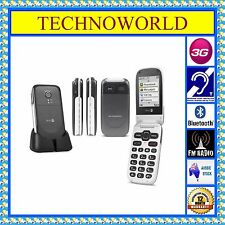 UNLOCKED SENIORS DORO 623/6520+3G+BIG BUTTON+ELDER USE FLIP PHONE+BLUETOOTH