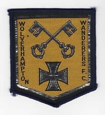 Original Vintage 1970s Sew On Patch Wolverhampton Wanderers Cloth Badge Unused