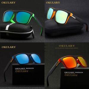 Lunettes de soleil Polarisés, Okulary HD, UV 400 Housse, Soleil, Sonnenbrillen