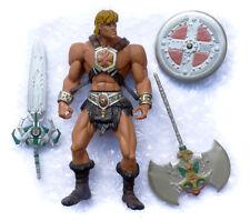Masters of the Universe 200x Figurine He-Man Iron Cross complete Motu Mattel