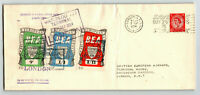 Great Britain 1954 BEA Flight Cover / Light Crease - Z13741