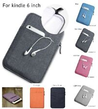 Cover Protect Case Bag Nylon Casual Sleeve Pouch For 6 Inches Kindle Paper White