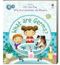 Usborne Lift The Flap Very First Questions and Answers What are Germs? (bb) NEW