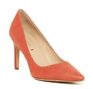 Women's Via Spiga Idalis Coral Pumps