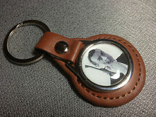 JAMES BOND, 007 `SEAN CONNERY`   Leather Key Rings, in black or tan