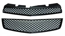 Replacement Chevrolet Bentley Style Equinox Upper & Lower Grille 2010-2011 Black