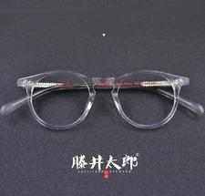 Luxury Handmade Acetate Full-rim Eyeglass Frames Women Men Glasses Transparent
