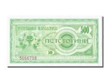 [#301478] Macedonia, 500 (Denar), 1992, FDS
